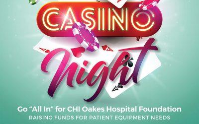 CHI Oakes Hospital Foundation to host Casino Night 2020